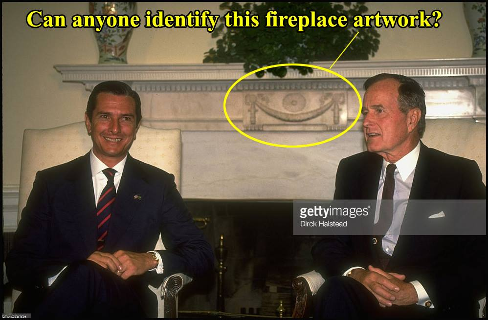 Oval Office Fireplace Masonic- Symbol Investigation 