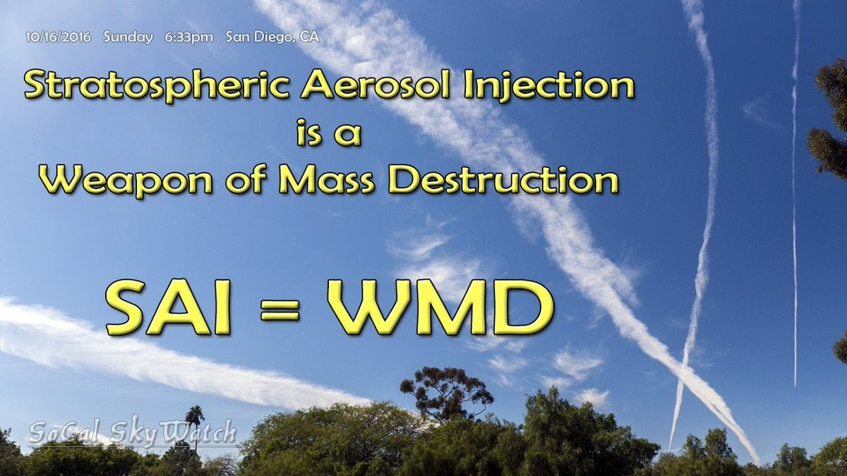 Symptoms Resulting From ChemtrailSpraying