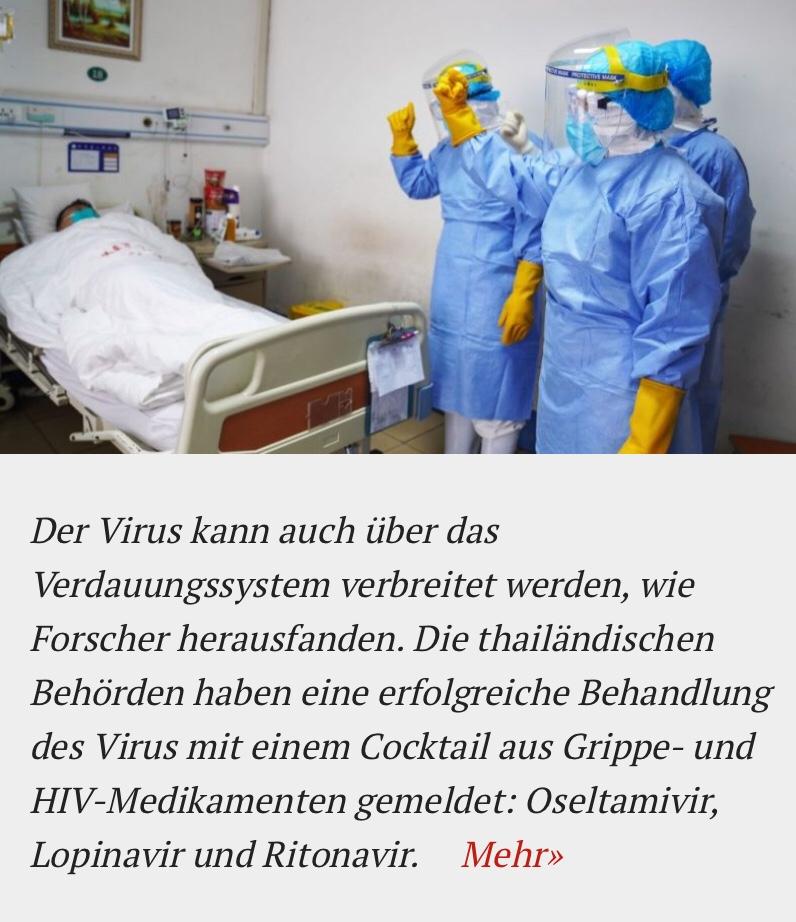 Wuhan-Coronavirus enthält einzigartige Bestandteile desHIV-Virus