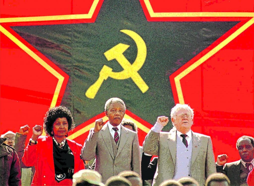 Terrorist Nelson Mandela and his jewishhelpers